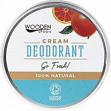 Духи, Парфюмерия, косметика Дезодорант-крем - Wooden Spoon Go Fresh Cream Deodorant