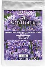 """Духи, Парфюмерия, косметика Маска для кожи вокруг глаз """"Розмарин"""" - Orientana Eye Silk Pad Rosemary"""