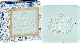 Духи, Парфюмерия, косметика Мыло-скраб - Essencias De Portugal Violet And Apricot Kernel Scrub Aromatic Soap