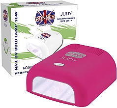 Духи, Парфюмерия, косметика Лампа для ногтей UV, малиновая - Ronney Profesional Judy UV 36W (GY-UV-230) Lamp