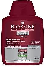 Духи, Парфюмерия, косметика Растительный шампунь против интенсивного выпадения волос - Biota Bioxsine DermaGen Forte Herbal Shampoo For Intensive Hair Loss