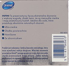 Презервативы, 3 шт. - Unimil Infini — фото N2
