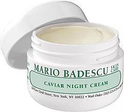 Духи, Парфюмерия, косметика Ночной крем для лица с икрой - Mario Badescu Caviar Night Cream