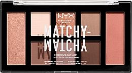 Духи, Парфюмерия, косметика Палетка для макияжа - NYX Professional Makeup Matchy Matchy Palette