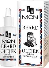 Духи, Парфюмерия, косметика Увлажняющее масло для бороды - AA Men Beard Oil
