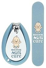 Духи, Парфюмерия, косметика Маникюрный набор - Beter Baby Minicure Duo Kit Blue