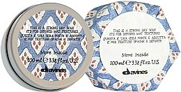 Духи, Парфюмерия, косметика Сухой воск для текстурных матовых акцентов - Davines More Inside Strong Dry Wax