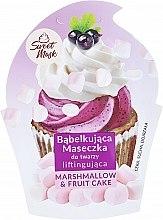 Духи, Парфюмерия, косметика Маска для лица подтягивающая - Marion Sweet Mask Marshmallow & Fruit Cake