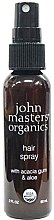 Духи, Парфюмерия, косметика Лак для волос - John Masters Organics Hair Spray With Acacia Gum & Aloe (мини)