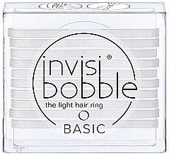 Духи, Парфюмерия, косметика Набор резинок для волос - Invisibobble Basic Crystal Clear