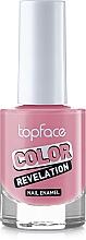 Духи, Парфюмерия, косметика Лак для ногтей - TopFace Color Revelation Nail Enamel