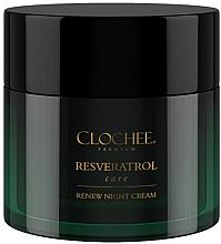 Духи, Парфюмерия, косметика Ночной крем для лица - Clochee Premium Renew Night Cream