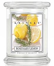 Духи, Парфюмерия, косметика Ароматическая свеча в стакане - Kringle Candle Rosemary Lemon