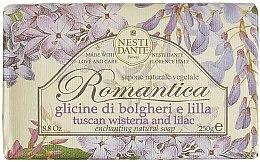 "Духи, Парфюмерия, косметика Мыло ""Глициния и сирень"" - Nesti Dante Romantica Tuscan Wisteria&Lilac Soap"