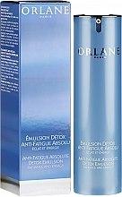 Духи, Парфюмерия, косметика Эмульсия для лица - Orlane Anti-Fatigue Absolute Detox Emulsion