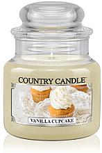 """Духи, Парфюмерия, косметика Ароматическая свеча """"Ванильный капкейк"""" (банка) - Country Candle Vanilla Cupcake"""