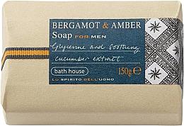Духи, Парфюмерия, косметика Bath House Bergamot & Amber - Мыло
