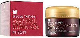 Духи, Парфюмерия, косметика Ретиноловая питательная ночная маска от морщин - Mizon Good Night Wrinkle Care Sleeping Mask