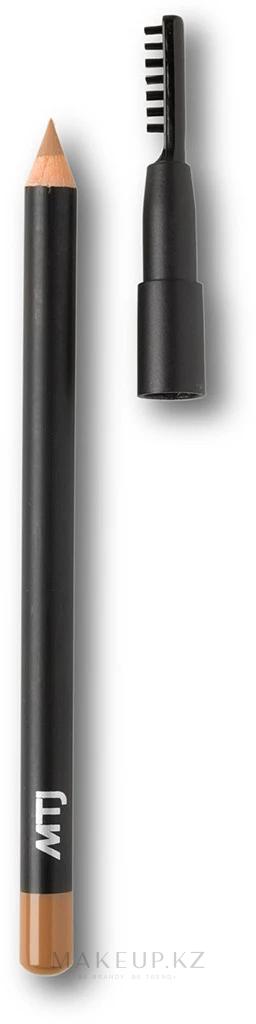 Карандаш для бровей - MTJ Cosmetics Eyebrow Pencil — фото Blonde