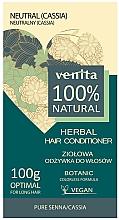 Духи, Парфюмерия, косметика Тонирующий кондиционер для волос - Venita Herbal Hair Conditioner