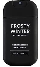 """Духи, Парфюмерия, косметика Спрей для дезинфекции рук """"Лесные ягоды"""" - HiSkin Antibac Hand Spray Frosty Winter"""