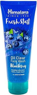 Гель для умывания с черникой - Himalaya Herbals Fresh Start Oil Clear Face Wash — фото N1