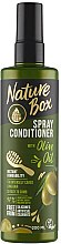 Духи, Парфюмерия, косметика Спрей-кондиционер для волос - Nature Box Olive Oil Spray Conditioner