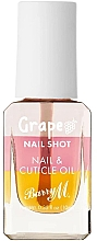 Духи, Парфюмерия, косметика Масло для кутикулы с виноградом - Barry M Nail Shot Grape