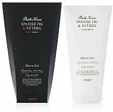 Духи, Парфюмерия, косметика Bath House Spanish Fig and Nutmeg - Гель для бритья
