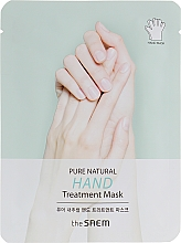 Духи, Парфюмерия, косметика Маска для рук - The Saem Pure Natural Hand Treatment Mask
