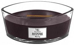 Духи, Парфюмерия, косметика Ароматическая свеча в стакане - WoodWick Hearthwick Flame Ellipse Candle Black Plum Cognac