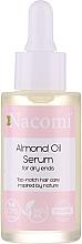 Духи, Парфюмерия, косметика Сыворотка для волос - Nacomi Natural With Sweet Almond Oil Serum