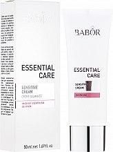 Духи, Парфюмерия, косметика Крем для чувствительной кожи - Babor Essential Care Sensitive Cream