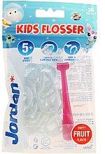Духи, Парфюмерия, косметика Набор - Jordan Kids Flosser (floss/1szt+refils/36szt), розовый