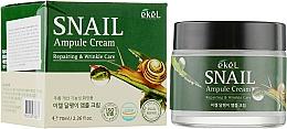 Духи, Парфюмерия, косметика Ампульный крем для лица с муцином улитки - Ekel Snail Ampule Cream