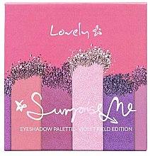 Духи, Парфюмерия, косметика Палетка теней - Lovely Surprise Me Eyeshadow Palette Violet Field Edition