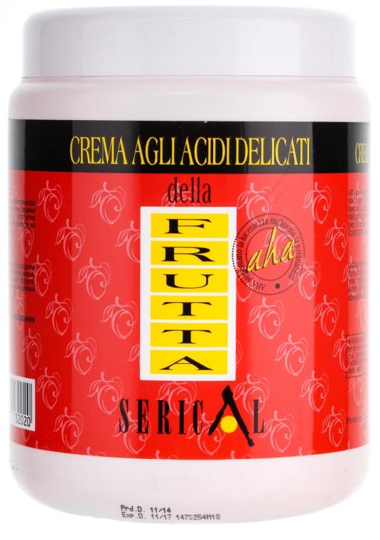 Крем-маска с содержанием мягких фруктовых кислот - Pettenon Serical — фото N1