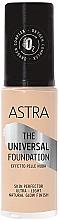 Духи, Парфюмерия, косметика Тональнальная основа - Astra Make-up The Universal Foundation