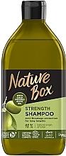 Духи, Парфюмерия, косметика Шампунь c оливковым маслом для ухода за длинными волосами - Nature Box Shampoo Olive Oil