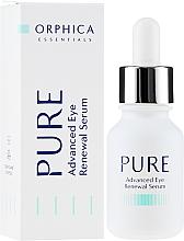 Духи, Парфюмерия, косметика Сыворотка для кожи вокруг глаз - Orphica Pure Advanced Eye Renewal Serum
