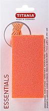 Духи, Парфюмерия, косметика Пемза для ног, оранжевая - Titania