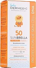 Духи, Парфюмерия, косметика Солнцезащитный крем для детей - Dermedic Sunbrella Baby Sun Protection Cream SPF 50+