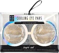 Духи, Парфюмерия, косметика Охлаждающие патчи для век - Soko Ready Cooling Eye Pads
