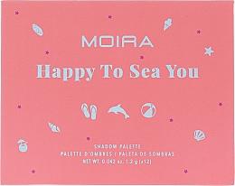 Духи, Парфюмерия, косметика Палетка теней для век - Moira Happy To Sea You Shadow Palette