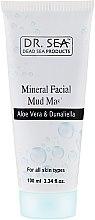 Духи, Парфюмерия, косметика Минеральная грязевая маска с алоэ вера и дуналиеллой - Dr. Sea Mineral Mud Mask