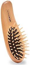 Духи, Парфюмерия, косметика Деревянная щетка для бороды - Men Rock Beard Brush
