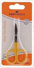 Духи, Парфюмерия, косметика Ножницы для ногтей 77678, желтые - Top Choice Colours