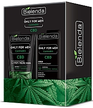 Духи, Парфюмерия, косметика Набор - Bielenda Only For Men Cannabis (cr/50ml + paste/150g)