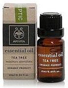 "Духи, Парфюмерия, косметика Эфирное масло ""Чайное дерево"" - Apivita Aromatherapy Organic Tea Tree Oil"