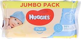 Духи, Парфюмерия, косметика Детские влажные салфетки Pure 72 шт - Huggies